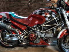 RayZ Buddyseat Motorzadel Ducati Monster