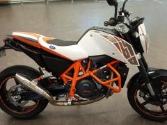 RayZ Buddyseat Motorzadel KTM Duke 690
