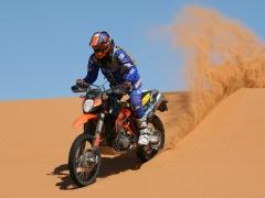 Libya, Morocco Ray KTM 950 superenduro